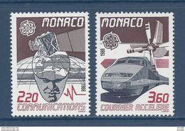 Monaco - YT N° 1626 Et 1627 - Neuf Sans Charnière - 1988 - Ongebruikt