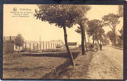 OUDENBURG - Statiestraat Met Weverij - Rue De La Station Avec La Tisseranderie - Oudenburg