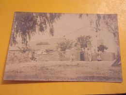ALGERIE CARTE PHOTO ORLEANSVILLE A TENIET EL HAAD MAISON FORESTIERE - Autres Villes