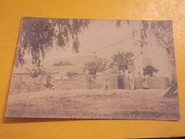 ALGERIE CARTE PHOTO ORLEANSVILLE A TENIET EL HAAD MAISON FORESTIERE - Algeria