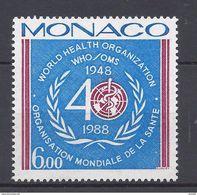Monaco - YT N° 1636 - Neuf Sans Charnière - 1988 - Ongebruikt