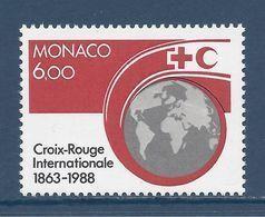 Monaco - YT N° 1637 - Neuf Sans Charnière - 1988 - Ongebruikt