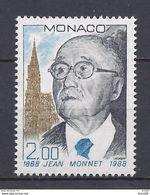 Monaco - YT N° 1638 - Neuf Sans Charnière - 1988 - Ongebruikt