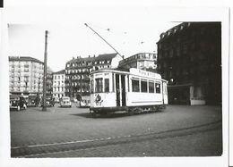 Photo - Tramway à Strasbourg - 67 - Pub Mutzig Pils  - Thème Chemin De Fer - Trains