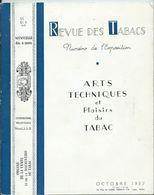 REVUE DES TABACS - Octobre 1937 - Nombreuses Publicités à L'intérieur - Books