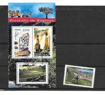 FRANCE 3885/3886/3890/3891 Oblitérés Rond - Used Stamps