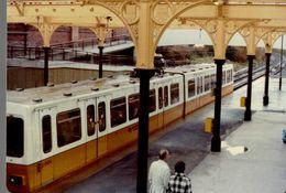 Photographie Du Train 4004 En Gare - Animée - Reproduction - Trains