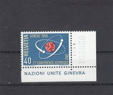 Suisse - Année 1958 - Neuf** - N°YT 611** - 2è Conférence Sur Ll'énergie Atomique à Genève - Unused Stamps