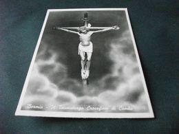CROCE CROCIFISSO GESU' DI COMBO TAUMATURGO BORMIO - Jezus