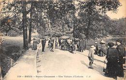 PARIS-75019-BUTTES CHAUMONT, UNE VOITURE D'ENFANTS - Arrondissement: 19