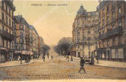 PARIS-75019-L'AVENUE LAUMIERE - Arrondissement: 19