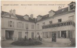 94 BOISSY-St-LEGER  Maison Nobis - Cour Intérieure, Véranda Et Restaurant - Boissy Saint Leger