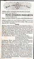 Dadizele, 1940, Rene Ingelbeen, Mahieu - Santini