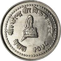Monnaie, Népal, SHAH DYNASTY, Birendra Bir Bikram, 10 Paisa, 1997, SPL - Nepal