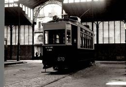 Photographie De La Locomotive 870 - Reproduction - Trains