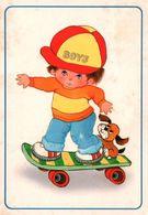 CPM - Fantaisie Illustrée - SCENE ENFANTINE - Garçon Sur Un Skate ... - Edition ESP - Children's Drawings