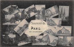 PARIS-75019-MULTIVUES DU 19 Eme - Arrondissement: 19