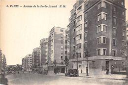 PARIS-75019-AVENUE DE LA PORTE-BRUNET - Arrondissement: 19