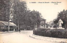 PARIS-75019-PLACE DU DANUBE HÔPITAL HEROLD - Arrondissement: 19