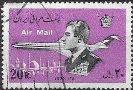 1974 Air. Shah And Douglas DC-9-80 Super Eighty - 20r - Black And Mauve FU - Iran
