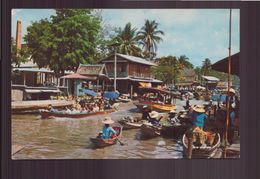 THAILANDE MARCHE FLOTTANT A BANGKOK - Thaïlande