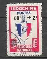 1943 - 44 : Secours National : N° 283 Chez YT. (Voir Commentaires) - Used Stamps
