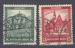 DEUTSCHLAND - GERMANIA - ALLEMAGNE - 1931 - Lotto Due Valori Obliterati, Yvert 435 E 436. - Germany