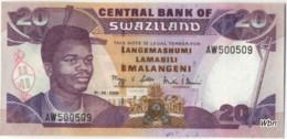 Swaziland 20 Emalangeni (P30) Sign.11 2006 -UNC- - Swasiland