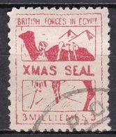 E222bis – EGYPTE – EGYPT – MILITARY STAMPS – 1935 – SC # M10 Used - Oblitérés