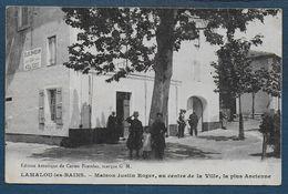 LAMALOU LES BAINS - Maison Justin Roger , Au Centre De La Ville............... - Lamalou Les Bains