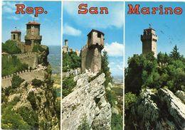REP. DI SAN MARINO - Prima - Seconda E Terza Torre - Vedute - San Marino