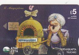 Cyprus, CYP-C-159, 1806CY,  George Mavrogenis, The Cartoonist, 2 Scans.   Still 3,79€  Value On The Card - Cyprus