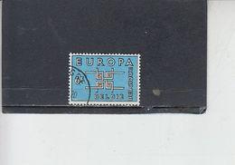 BELGIO  1963 - Unificato 1261° - Europa-CEPT - Belgium