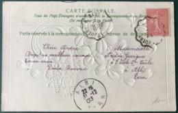France N°129 Sur CPA 1905 - Convoyeur ST JUERY à ALBI - (B248) - 1877-1920: Periodo Semi Moderno