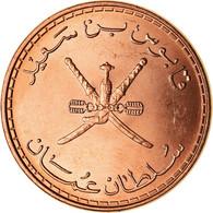 Monnaie, Oman, Qabus Bin Sa'id, 10 Baisa, 2008, British Royal Mint, SPL+, Bronze - Oman