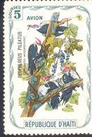 HAITI 5G USED STAMP 53153 PILEATED WOODPECKER BIRD - Haiti