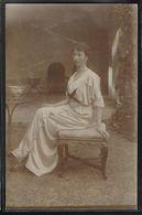 CARTE PHOTO - Portrait D'une Femme - Photographs