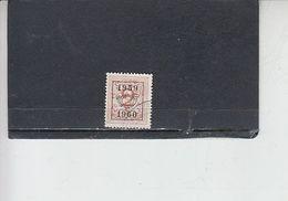 BELGIO   - 59 - 60  Soprastampati - Belgium