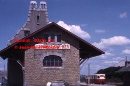 ReproductionPhotographie D'un Train Du Réseau Breton En Gare De Camaret-sur-Mer En 1966 - Reproductions