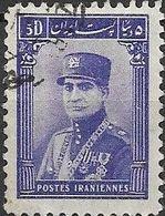 1935 Riza Sh Ah Pahlavi - 5d - Violet FU - Iran