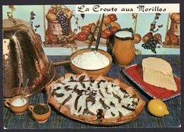 RECETTE DE CUISINE CROUTE AUX MORILLES, EMILIE BERNARD, CARTE VIERGE - Recipes (cooking)