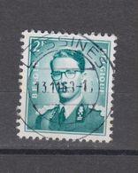 COB 1066 Oblitération Centrale LESSINES - 1953-1972 Glasses