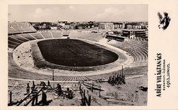 STADIUM / STADE / STADIO - BUDAPEST - HUNGARY : NÉPSTADION En CONSTRUCTION / UNDER CONSTRUCTION - 1953 - RRR !!! (ae843) - Football