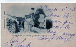 24 - BRANTOME - Château De LA HIERSE - DOS ENTIER - Autres Communes