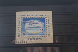 KSZE, Blockausgabe Rumänien 1977, Block 143, Gezähnt, Ungebraucht - European Ideas
