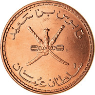 Monnaie, Oman, Qabus Bin Sa'id, 10 Baisa, 2008, British Royal Mint, SPL, Bronze - Oman