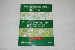 Atlas Topographique De Belgique - Topografische Atlas Van België - Géographie
