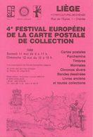 CHENEE 1985 - CERCLE CARTOPHILE LIEGEOIS - 4ème FESTIVAL EUROPEEN DE LA CARTE POSTALE DE COLLECTION - Beursen Voor Verzamellars