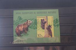 Europäisches Naturschutzjahr 1980, Blockausgabe Rumänien, Block 168, Ungezähnt, Ungebraucht - European Ideas