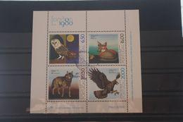 Europäisches Naturschutzjahr 1980, Blockausgabe Portugal, Block 30, Gebraucht - European Ideas